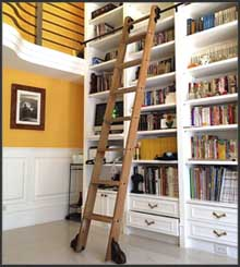 Browse Rolling Library Ladder Kits